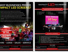 #33 pentru Design a Flyer for Impact LED Screens de către Mimi214