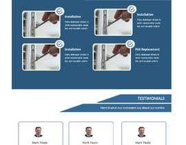 Nro 47 kilpailuun Design landing page käyttäjältä frontEndDev2020