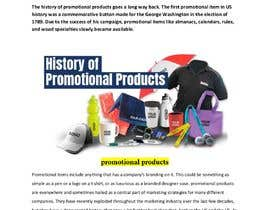 "#5 for Write a Blog ""The History of Promotional Products"" af irakibul"