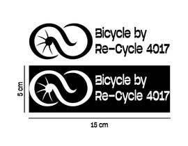 #14 untuk Make a stencil logo for bike charity. oleh Aaban002
