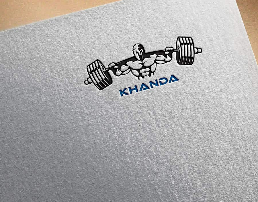 Proposition n°                                        77                                      du concours                                         Fitness logo inspired by the Khanda