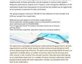 #11 для Write A Post About Fake Coronavirus Tests от mdfarhan94064