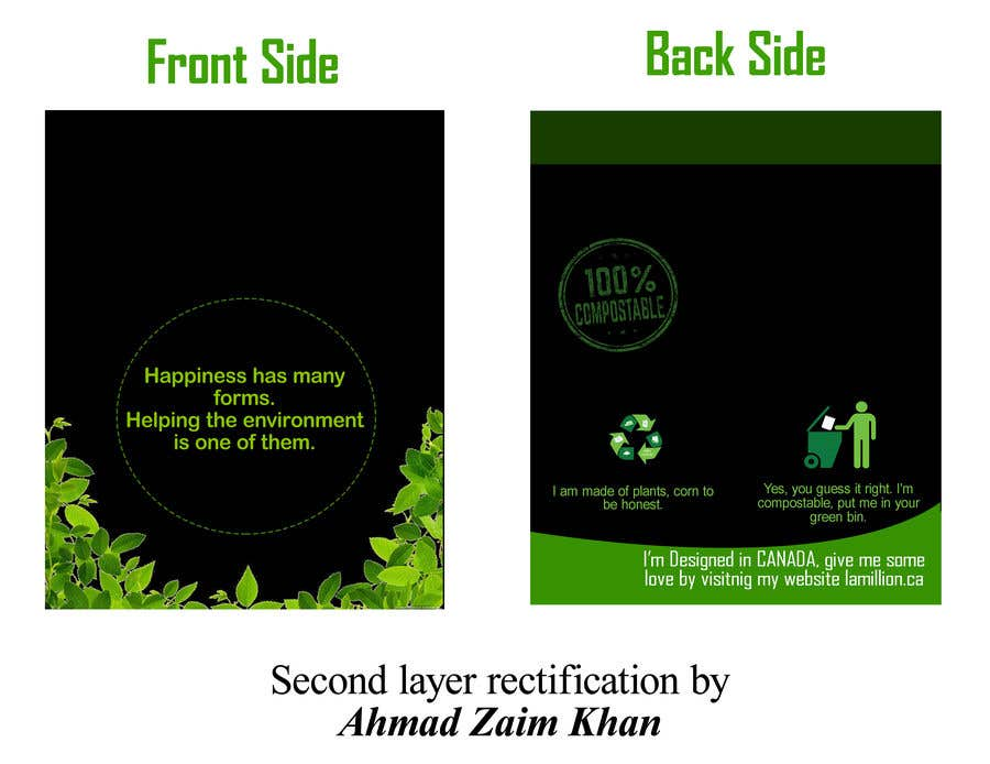 Konkurrenceindlæg #                                        35                                      for                                         Design for a plastic bag