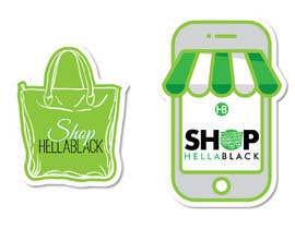 #18 for HellaBlack Sticker af QasimAs