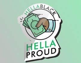 #15 for HellaBlack Sticker af mertgenco