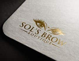 #37 for Logo for Sol's Brow Boutique af mdsorwar306