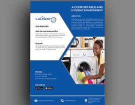 #38 for Design an A5 flyer for a new Laundromat business by baduruzzaman