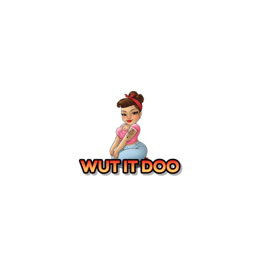 "Penyertaan Peraduan #                                        64                                      untuk                                         Looking  for a logo and a character saying ""Wut It Doo"""