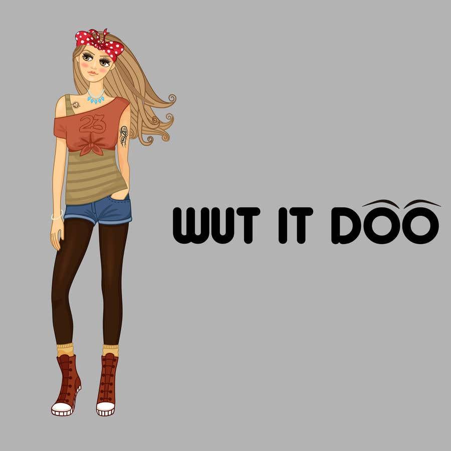 "Penyertaan Peraduan #                                        59                                      untuk                                         Looking  for a logo and a character saying ""Wut It Doo"""