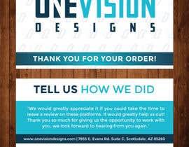 Nro 27 kilpailuun Create a Professional Post Card Designs for Reviews käyttäjältä petersamajay