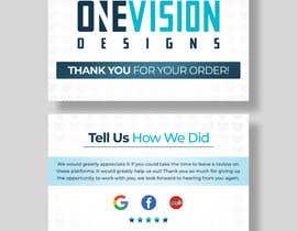 Nro 9 kilpailuun Create a Professional Post Card Designs for Reviews käyttäjältä Fazlul01