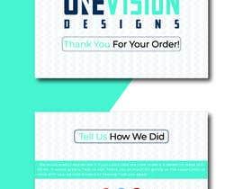 Nro 24 kilpailuun Create a Professional Post Card Designs for Reviews käyttäjältä Hojaifabin1249