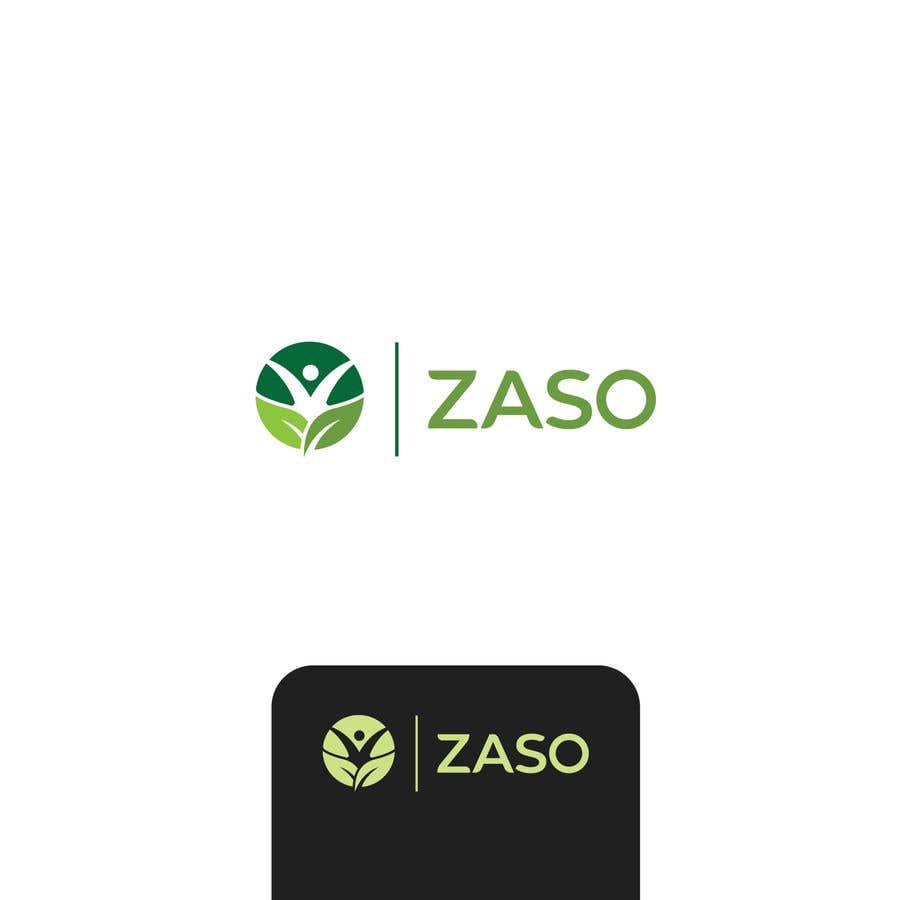 Penyertaan Peraduan #                                        101                                      untuk                                         Make me a logo with our brand name: ZASO