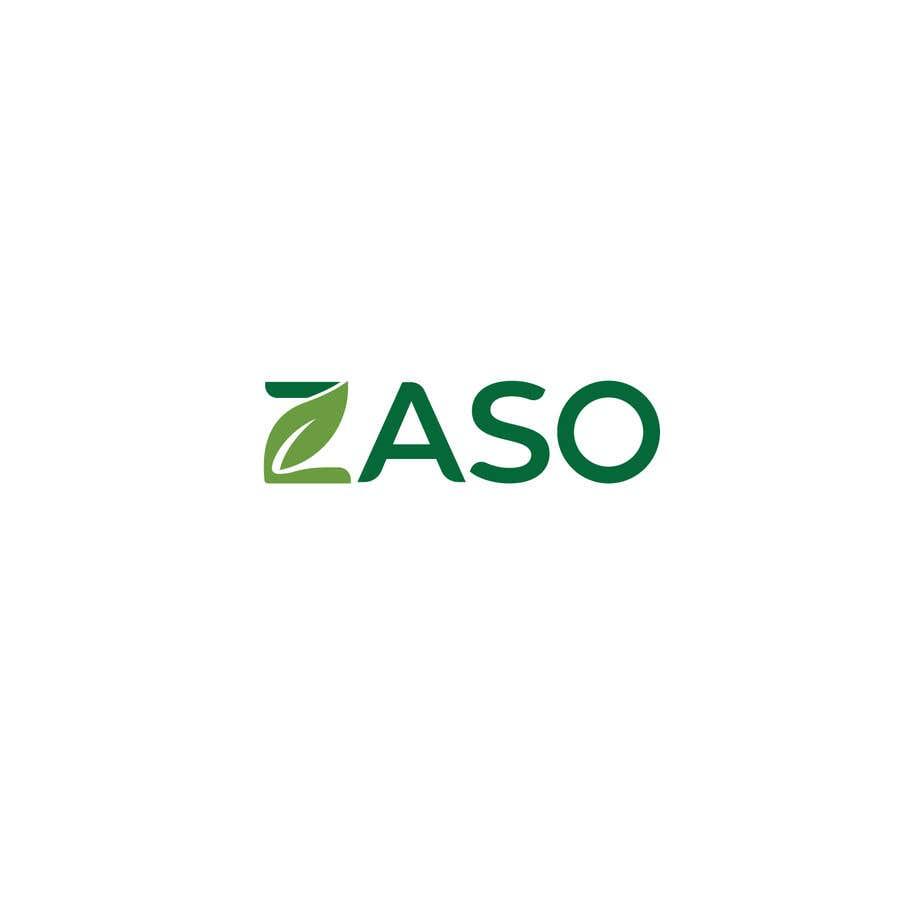 Penyertaan Peraduan #                                        103                                      untuk                                         Make me a logo with our brand name: ZASO