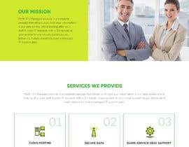 Nro 50 kilpailuun Corporate Profile - Website, Single Page Flyer Design & Email Marketing Newsletter käyttäjältä tszesther