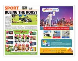 Nro 121 kilpailuun Graphic design for 1 page advertisement käyttäjältä DesignerKmTh