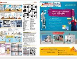 Nro 94 kilpailuun Graphic design for 1 page advertisement käyttäjältä creativeranaa