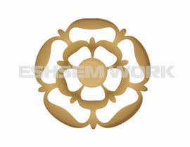 #6 untuk Design Tudor Rose as a Gold Emblem/Badge for Small Leather Goods oleh eshasem