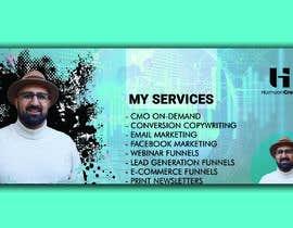 Nro 39 kilpailuun Create 5 templates I can edit for my social media posts on LinkedIn + a LinkedIn + Facebook Banner (see examples) käyttäjältä colourrybd