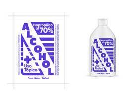 #31 para Diseño de etiqueta de Alcohol / Design label for alcohol (Serigrafia) de ajotam