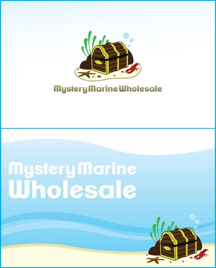 Kilpailutyö #15 kilpailussa Logo Design for Mystery Marine Wholesale