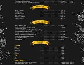 #20 for Refresh restaurant menu by mdrahad114