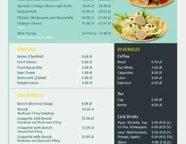 #33 for Refresh restaurant menu by saumyagupta27