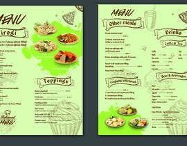 #43 for Refresh restaurant menu by Nayefhaque