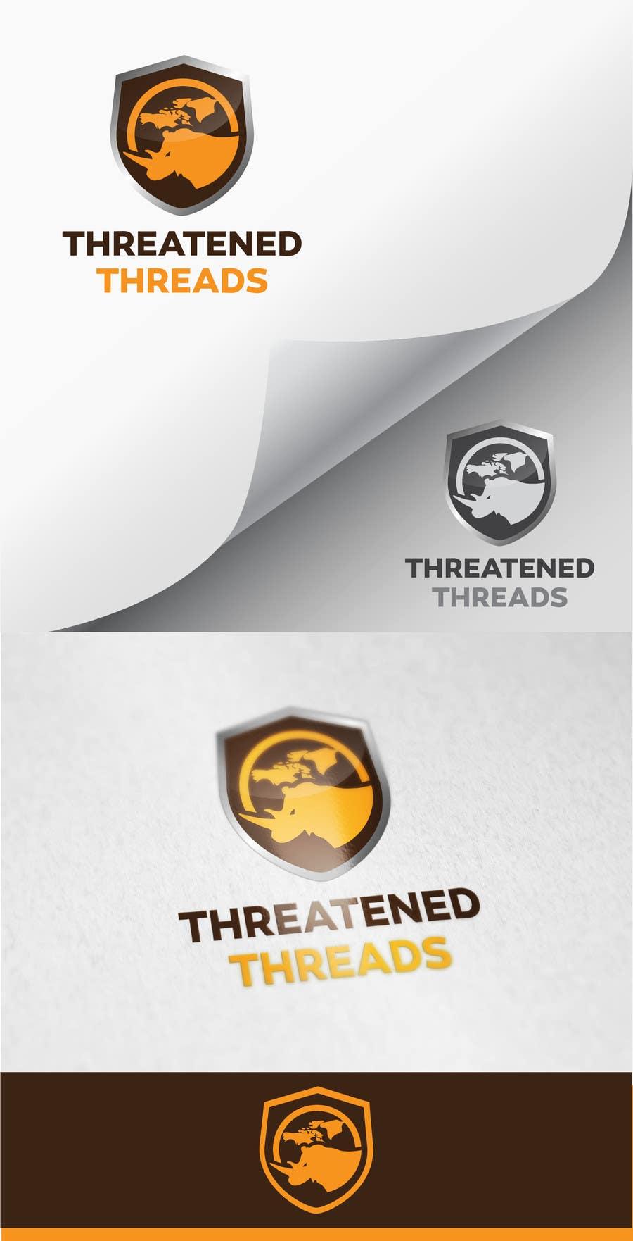 "Kilpailutyö #97 kilpailussa Design a Logo for ""Threatened Threads"""