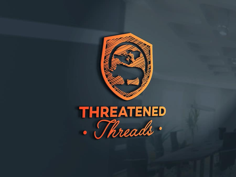 "Kilpailutyö #101 kilpailussa Design a Logo for ""Threatened Threads"""