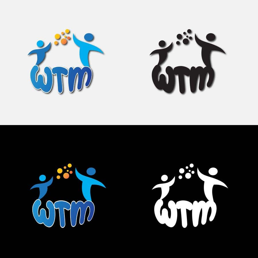"""Contest Entry #                                        177                                      for                                         Create a company logo with the letters """"WTM"""" in it."""
