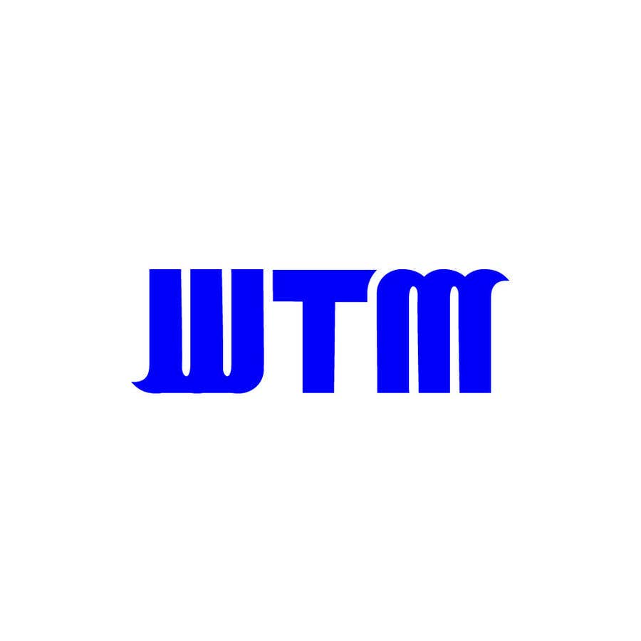 """Contest Entry #                                        176                                      for                                         Create a company logo with the letters """"WTM"""" in it."""