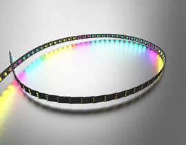 rpendor3 tarafından I need a 3D modeler to create an LED light strip için no 19