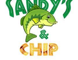 #1 untuk Logo design - fish and chips oleh Fuzz01