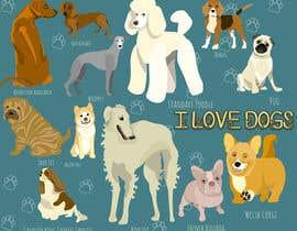 Nro 33 kilpailuun Dog Love Poster käyttäjältä rimimadmajzoub
