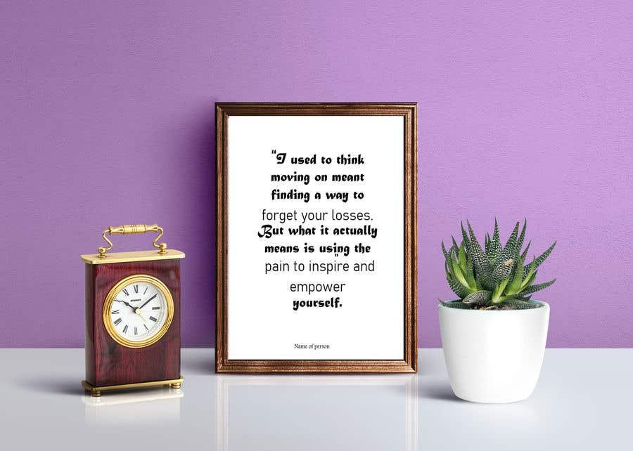 Inscrição nº                                         36                                      do Concurso para                                         10 Quote Poster designs