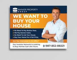 #659 para Design Real Estate Postcard por Uttamkumar01