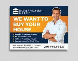 Nro 662 kilpailuun Design Real Estate Postcard käyttäjältä Uttamkumar01