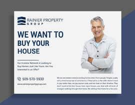 #665 para Design Real Estate Postcard por susmoydey24