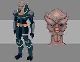 #14 for Character turnaround for a sci-fi YA novel af alexdavilaart