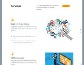 Nro 18 kilpailuun Build me a one page website wordpress theme site käyttäjältä sharifkaiser