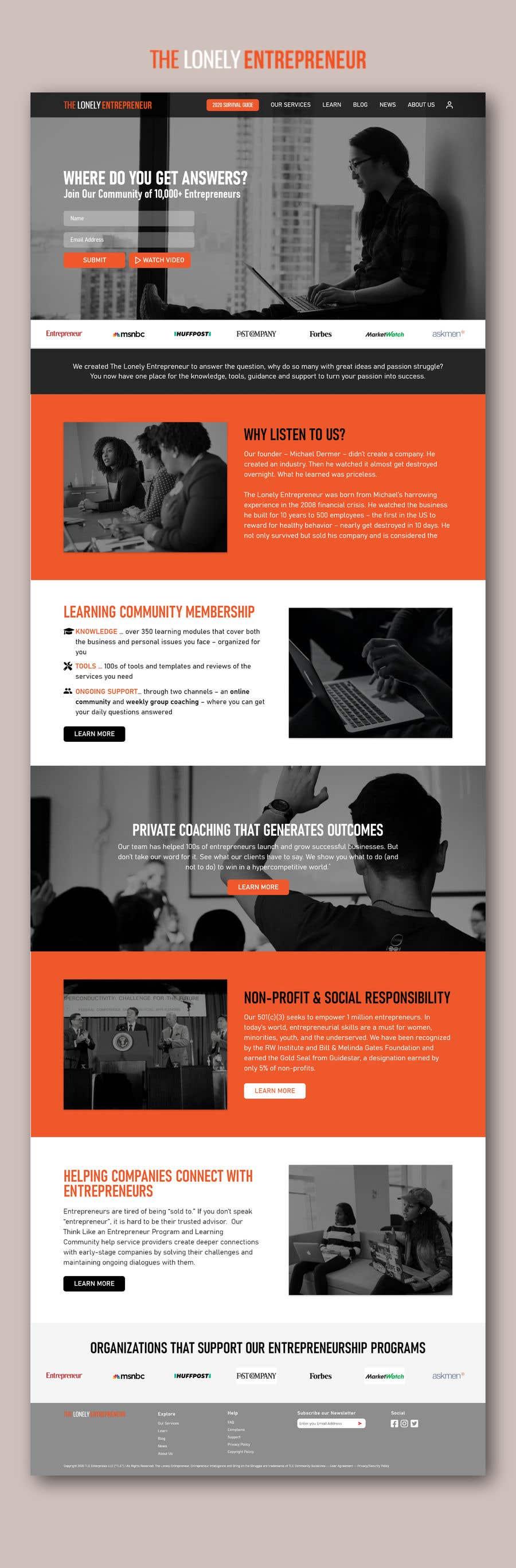 Penyertaan Peraduan #                                        38                                      untuk                                         Web Page Redesign