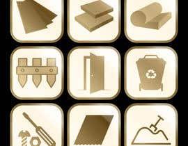 Nro 26 kilpailuun Create 9 x Custom SVG Icons käyttäjältä MUGHJ