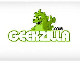 #105 para Logo Design for GeekZilla de pinky