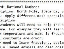 #1 para VR Lesson ideas for Middle School Math por dellkj1996