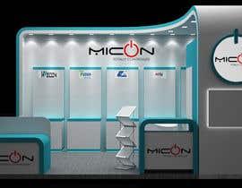 Nro 8 kilpailuun Basic 3D booth designs. käyttäjältä Devchoudhary80