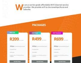 #50 for A Wi-Fi ISP startup needs website landing page. by professionalerpa