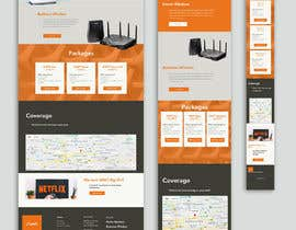 #49 for A Wi-Fi ISP startup needs website landing page. by paulmkhonta