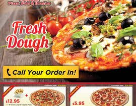 #12 untuk Design a Flyer 1/2 Page in size with Coupons for Pizza Shop oleh sunryu06