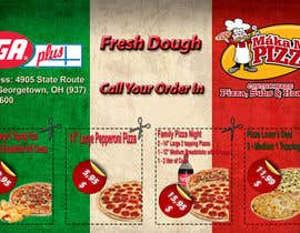 #10 for Design a Flyer 1/2 Page in size with Coupons for Pizza Shop by sandrasreckovic